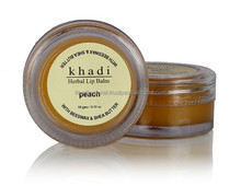 Khadi Natural Herbal Peach Lip Balm