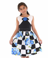 Fancy Boutique Quality Girl's Dress Stocked In the USA