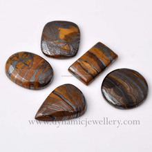 Wholesale loose Iron Tiger Eye Gemstone
