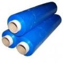 Blue Color Standard Hand Type Stretch Film 17 Mic (150% Pre-stretching)
