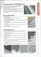 Core Gravel or Similar Geotextile membrane to hold gravel for driveway and parking area. interlocking and strong enough to hold