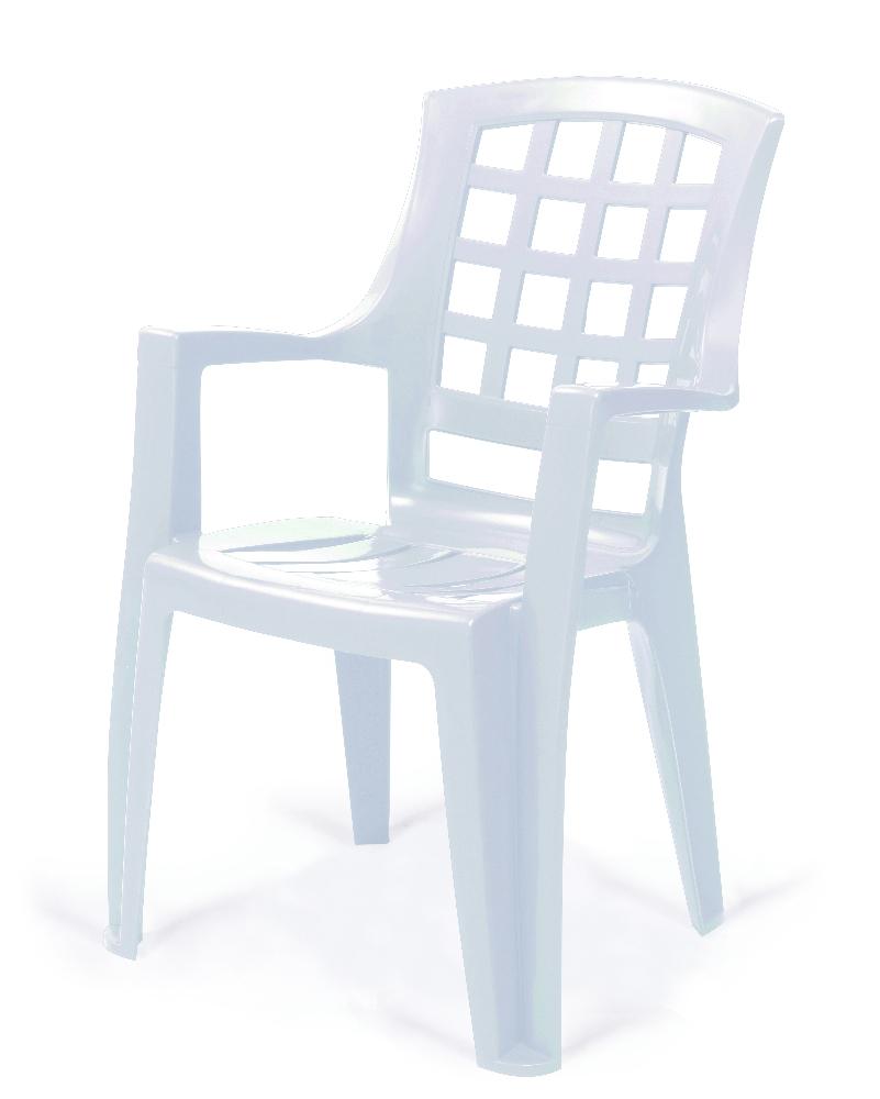 Empilable forte en plastique pas cher chaise de jardin for Chaise plastique exterieur