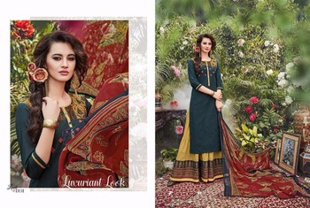 Belleza Lehnga Suit Indian Women Wear With Embroidery