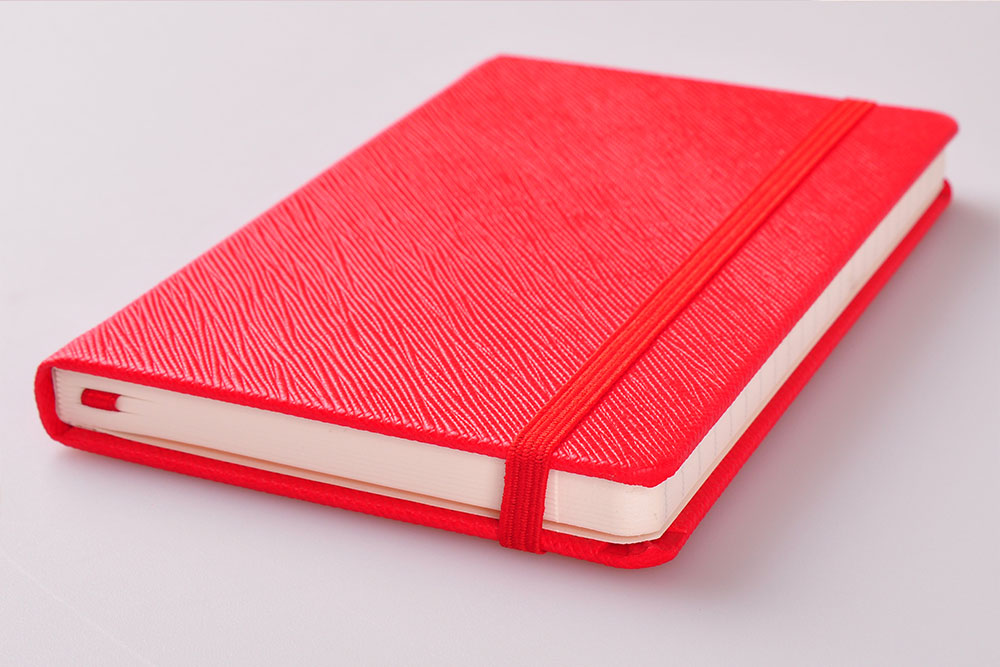 Embossed Tejido Notebook PU covered