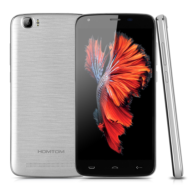 Original HOMTOM HT6 5.5Inch Smartphone Quad Core Android 5.1 Mobile Phone 1280*720 2GB 16GB Shipping from France
