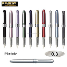 platinum plaisir fountain pen 0.3 /0.5 made for stainless steel