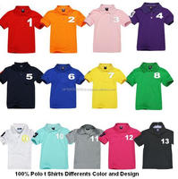 OEM Custom Logo Polo shirts With Different Colors and Design/ 100% Cotton polo shirt / Best quality t shirts