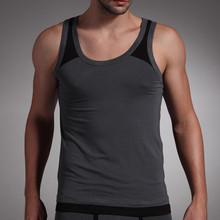 Zega Apparel New High Quality Sexy Tank Top 100 Cotton Sleeveless Men Summer Tanktop
