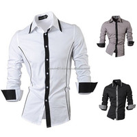 quality newest style factory price boys dress shirts, shirt dress men, unique dress shirts 2016 newly arrival