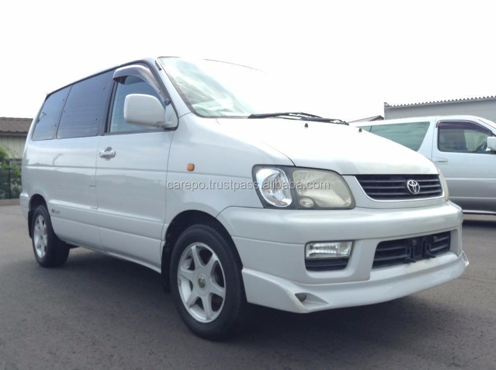 USED GASOLINE RIGHT HAND DRIVE CARS TOYOTA LITEACE NOAH G GF-SR40G 2000