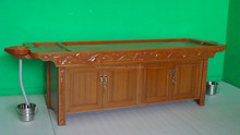 ROYAL MASSAGE TABLE Wooden with Cabinet