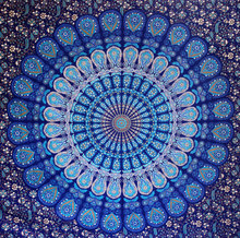 wholesale custom printed indian mandala tapestry,Rajasthani Home Textiles Handmade Printed Mandala Beach Hippie Cotton bed sheet