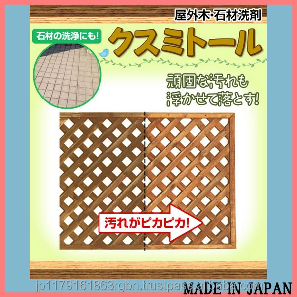 Multi-purpose liquid detergent with citric acid for cheap outdoor floor tile made in Japan