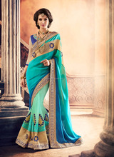Indian Designer Bollywood saree for women