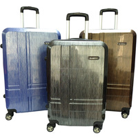 Summit MA1581 Anti-theft Polycarbonate Hard Case Luggage