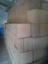 coco peat block using for absorption in spilled oil industries