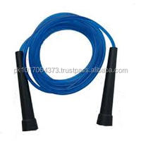 Plastic handle rubber jumping rope plain skipping rope
