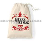Cotton Christmas Gift Bag - Manufacturer in Istanbul