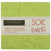 HANDMADE NATURAL SOAP- GREEN TEA & MINT