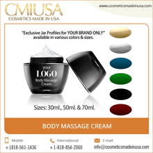 No Side Effects Your Own Brand Body Massage Cream