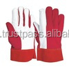 split leather gloves/cow crust leather gloves/Working gloves, Canadian Rigger gloves, Safety