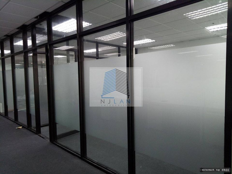 NJLAN Office Partition/Glass Partition+Workstation