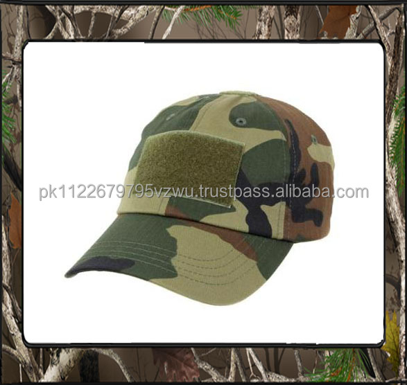 Beautiful Style different types of camo Army caps and hats at cheap factory price