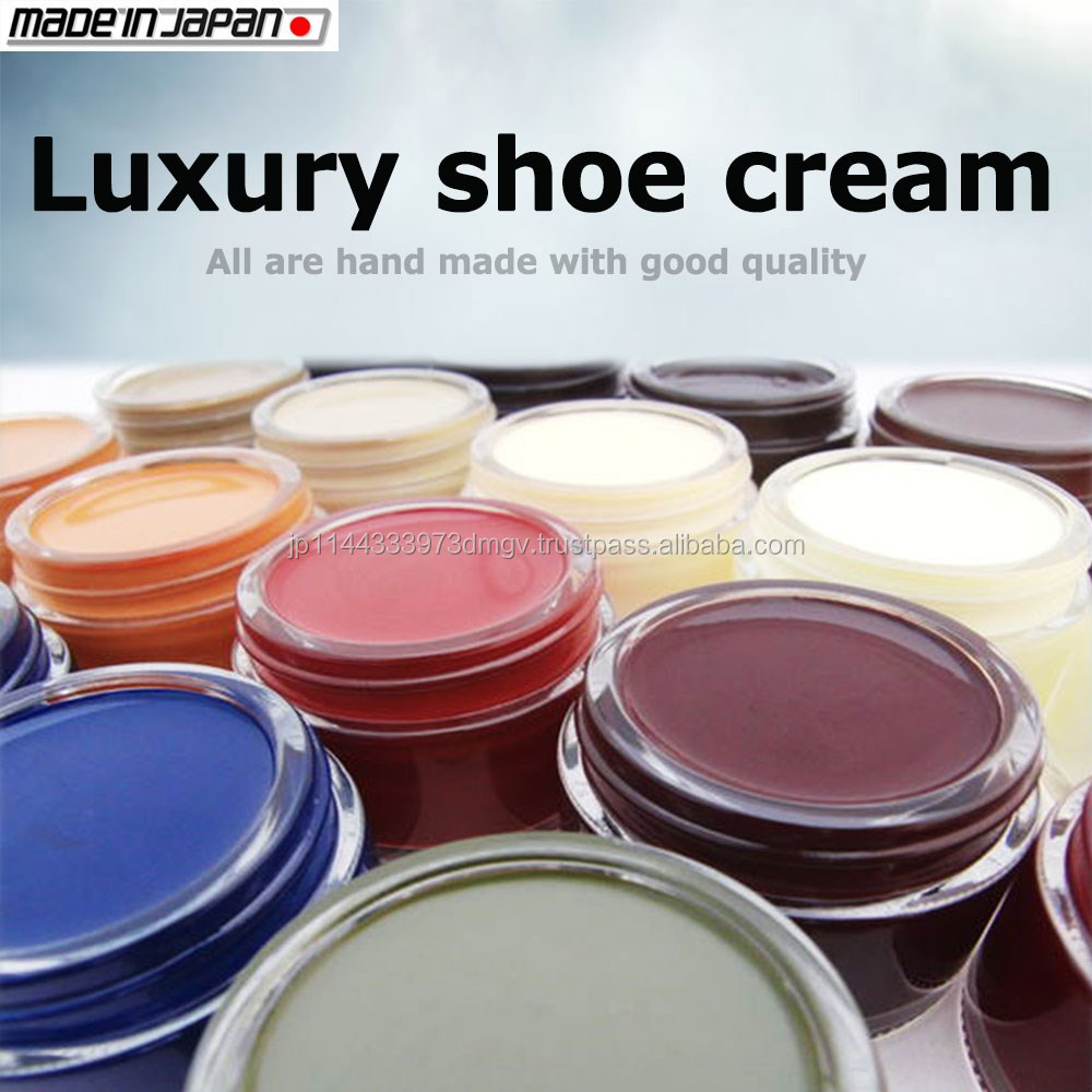 Japanese and emulsifying shoe shine chairs for sale polish cream , various color available