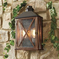 Wall Hanging Wooden Lantern