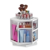 Spinning Cosmetic Organizer in White