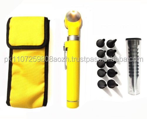 Mini OTOscope Fiber Optic plastic body Delta Med Surgical