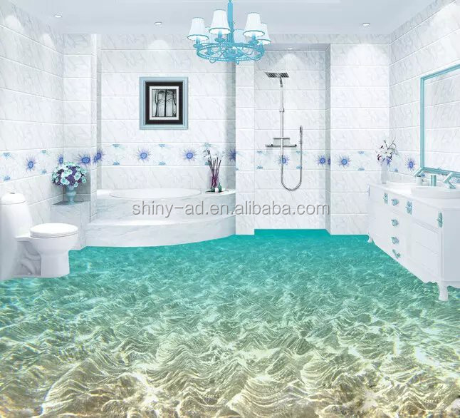 Home, office and showroom flooring 3D Floor Sticker and design