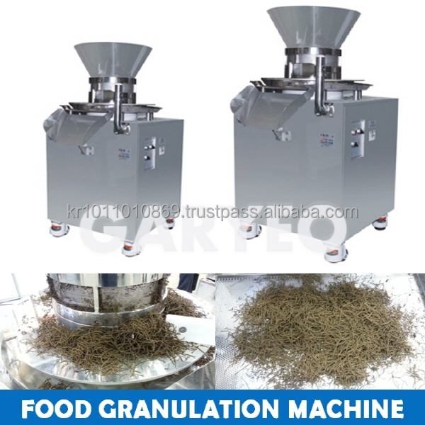 Herbal medicine granulator, Food granulator made in Korea