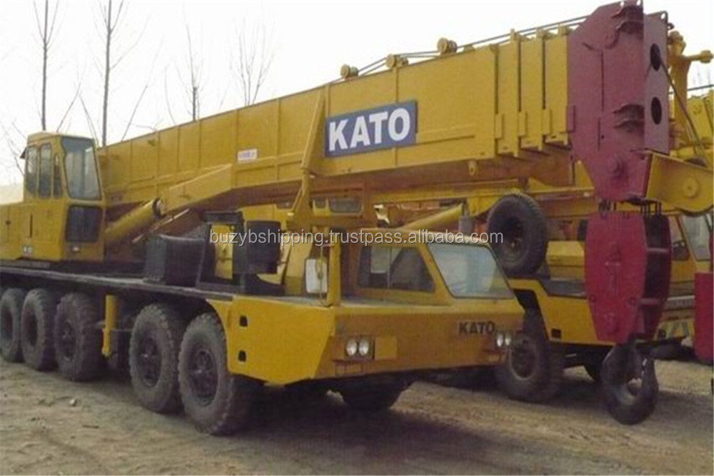 Second hand 100ton crane, good condition kato truck cane 100ton, lowest price!