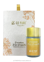Go Pure Pure Propolis Premium / Pure Propolis enhanced with Ganoderma Lucidum (Lingzhi) spore oil
