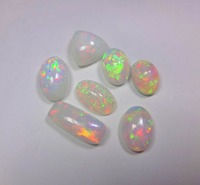 100% NATURAL ETHIOPIAN WELO FIRE OPAL CABOCHON CALIBRATED PLAY COLOR