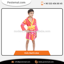Kids Turkish Towel Kids Bathrobe Peshtemal Kids Robe from the designer&manufacturer