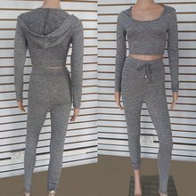 Women Tracksuit Hoodies Sweats Sweatshirts + Sport Casual Pants Suit Set