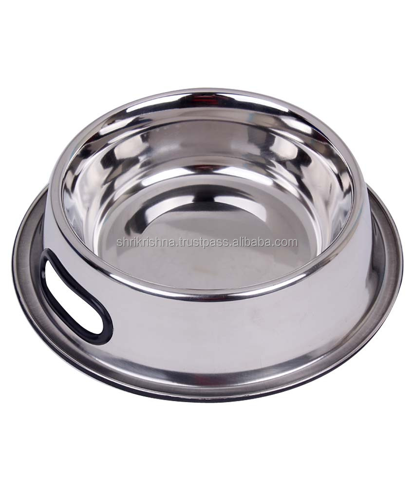 Popular & Cheap Stainless Steel Pet Dish