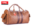 Men's Stylish Comfortable Brown Premium Leather Travel Bags TXDL1A2L3B