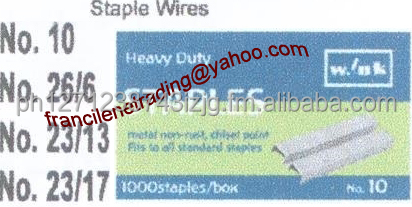 Staple Wire, Shrink Wrap, Plotter Paper, PP Strap, Stretch Wrap, Circlip Bubble Wrap, Gloves, Ball Pen, Gas Oven, Ice Crusher,