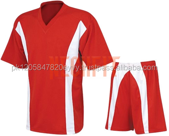 Customized cheap sublimation design shirt soccer uniforms set colo colo soccer jersey