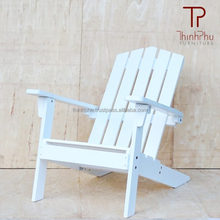 White Adirondack Chair 03 - High quality outdoor furniture at Good price