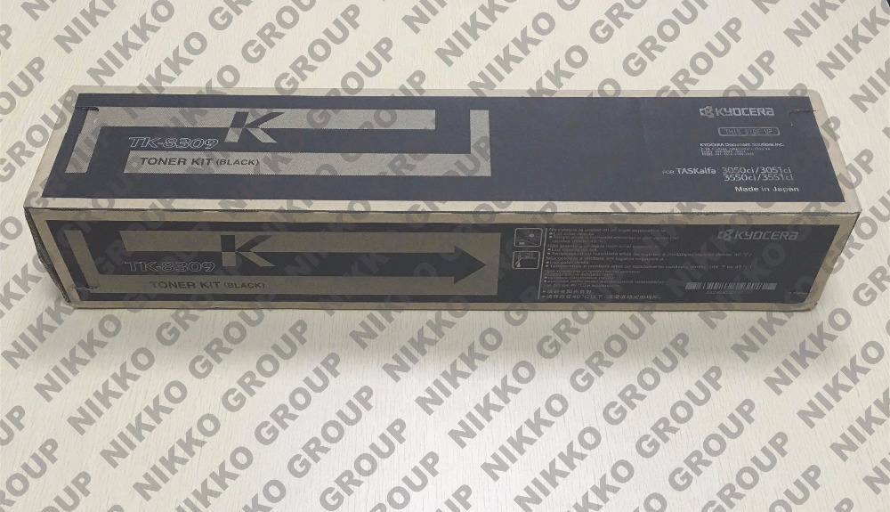 Original Genuine Kyocera TK-8309K Black Toner Cartridge for TaskAlfa 3050CI 3051CI 3550CI 3551CI