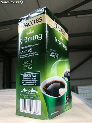 Jacobs Kronung Ground Coffee 250g-500g