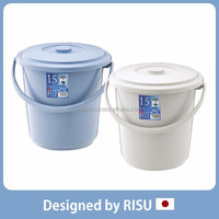 Easy to use and Various garden supply plastic bucket with handle for home & commercial use with various sizes