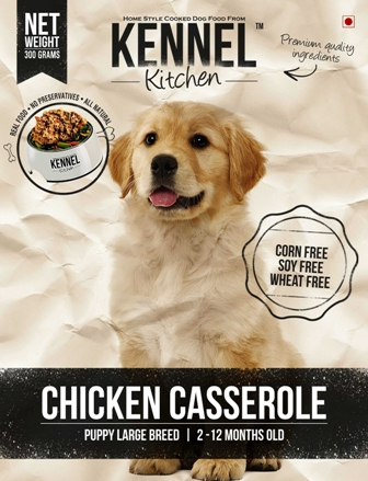 Chicken Casserole Puppy Large Breed