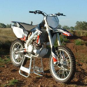 150cc Dirt Bike with Spoke Wheel Fr. Disc Brake & Rr. Disc Brake Ky150gy-7