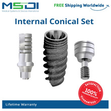 Conical connection implant dental - Nobel active compatible