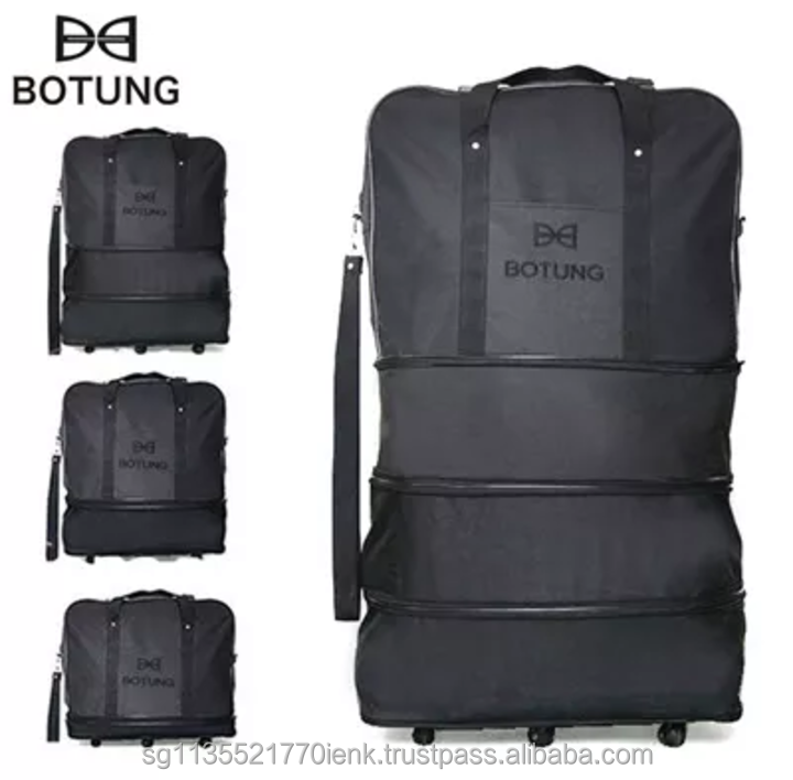 BOTUNG 3-in-1 Expandable Travel Luggage Bag Ver.1, 3 Layers Expansion